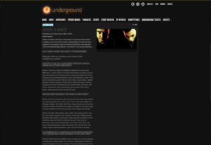 "INTERVIEW : Airbas & Mavee on ""theunderground.eu"""