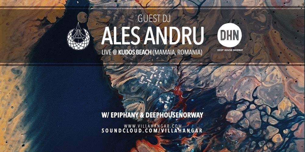 #MUSICINTHEAIR guest dj : ALES ANDRU
